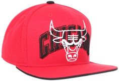 NBA Chicago Bulls Wool Snapback Hat by adidas. Save 43 Off!. $13.60. Wear your favorite team's colors. Officially licensed by the NBA. Made by Adidas. Snapback adjustable hat. One size fits all. An embroidered team logo with script namesake on the crown. NBA logo patched on the left. Adidas logo patched on the rear. Contrasting color under the bill, and top button. Branded taping. Moisture absorbing sweatband. A snapback closure for an adjustable fit. 80% Acrylic, 20% Wool.