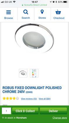 Horsham, Thing 1, Downlights, Polished Chrome, Bathroom, Washroom, Bathrooms, Bath