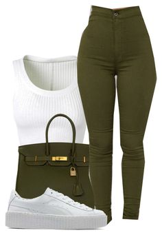 Alaïa, Hermès and Puma Swag Outfits For Girls, Cute Swag Outfits, Chill Outfits, Cute Comfy Outfits, Girls Fashion Clothes, Teenager Outfits, Teen Fashion Outfits, Mode Outfits, Girly Outfits
