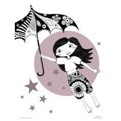 Roommate plakat - I Had A Dream Last Night - Umbrella