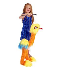 Tropical Bird Marionette