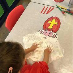 Saint Nicolas, Creative Activities For Kids, Ladybug, Kindergarten, Preschool, Psg, Manualidades, Bricolage Noel, Kid Garden