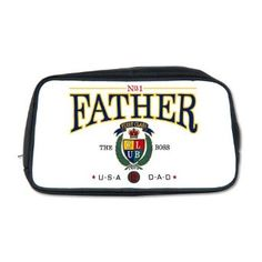 Presents He Will Love: Excellent Valentine's Day Gifts for Dad. Number One Father Travel Bag.