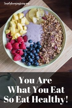 It can be a challenge to switch up your diet in the quest for a healthier lifestyle. But while it might be difficult to get going, you might find that once you get into the groove, it will become second nature to you. #getealthy #eathealthy #simplyamazingliving #getfit #healthyliving #healthyeating #eatright #bethebestyou