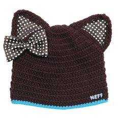 Neff kitten beanie