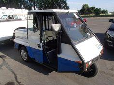 three wheel scooters street legal   1996 Westward Go-4 3-wheel enclosed cab, street legal / Layaway ...