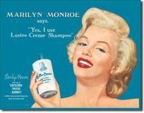 Marilyn Monroe Shampoo Sign