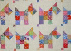 Scotties --Pieced Puppy Quilt | Craftsy