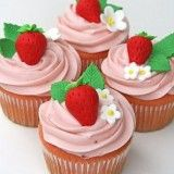 Festa da Moranguinho - Lembrancinhas da Moranguinho - Cupcakes
