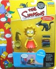 Lisa from the 1st series of Simpsons figures - very cool!