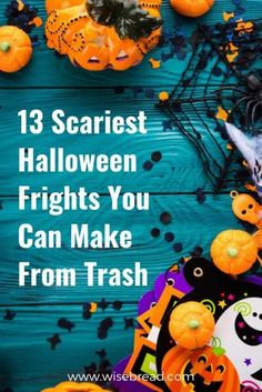 With halloween coming up, have you organised your costumes and decorations? We& got some great DIY frights you can upcycle and make from trash. Scary Halloween, Halloween Party, Halloween Decorations, Cheap Halloween, Halloween 2019, Halloween Ideas, Savings Planner, Budget Planner, Activities For Kids