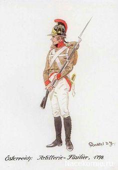 Fuciliere dell'artiglieria austriaca