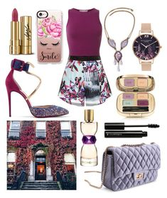 """‍"" by dilya-kadyrova ❤ liked on Polyvore featuring Christian Louboutin, Miss Selfridge, Clover Canyon, Olivia Burton, Dolce&Gabbana, Yves Saint Laurent, Illamasqua and Casetify"