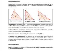 Las medianas trazadas en tres tipos de triángulos, un acutángulo, un rectángulo y un obtusángulo Line Chart, Decorated Notebooks, Connect The Dots