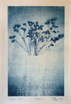 helle vase, lithografie, 2014