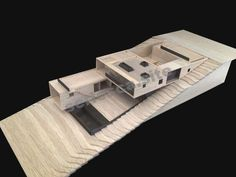 Gallery of La Gloria House / Duque Motta & AA - 14 - La Gloria House, Model. Image Courtesy of Duque Motta - Architecture Model Making, Urban Architecture, Concept Architecture, School Architecture, Houses On Slopes, Atrium House, Kindergarten Design, Casa Patio, Retreat House