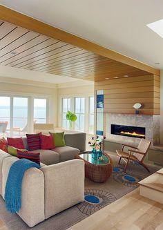 ACHADOS DE DECORAÇÃO - blog de decoração: BEACH HOUSE: Ah! Quero uma dessa também!