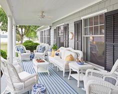 Wicker Porch Furniture on Pinterest | Outdoor Wicker Furniture, Front
