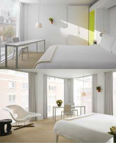 St Martins Lane | Design Hotel | Great Britain | http://lifestylehotels.net/en/st-martins-lane | room, design, modern, art, white, lifestyle