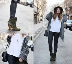 Green Boots (by Cabinet in Ruins *) http://lookbook.nu/look/4471351-Green-Boots
