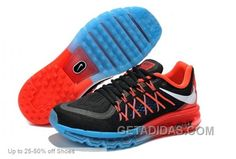 http://www.getadidas.com/nike-men-air-max-2015-black-red-running-shoes-authentic.html NIKE MEN AIR MAX 2015 BLACK RED RUNNING SHOES AUTHENTIC Only $69.00 , Free Shipping!