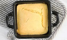 How To Make The Cutest Single Serving Of Cornbread You've Ever Seen This Cornbread Recipe For One Person Is The Cutest Comfort Food You'll Ever Make Cooking App, Cooking For One, Batch Cooking, Cooking Recipes, Cooking Games, Cooking Videos, Cooking Classes, Healthy Recipes, Cooking Beets