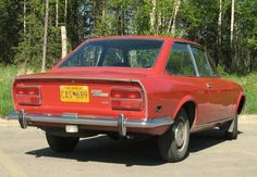 1972 Fiat 124 Sports Coupe