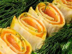 Receta | Rollitos de salmón con eneldo - canalcocina.es