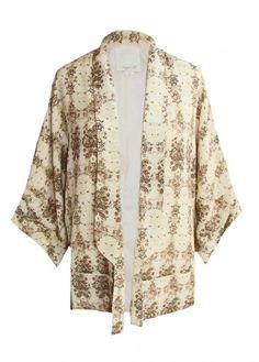 Python silk jacket #getfussed