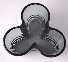 Bauhaus Design Wagenfeld Inspired Glass Pipe Ashtray $50.00