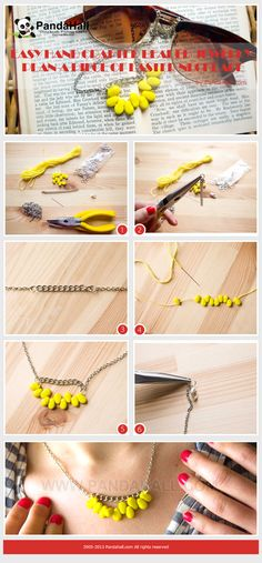 Fashion Jewelry Jewelry & Watches Constructive Beaded Silver Tone Tassel Pendant & Long Chain Necklace