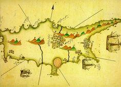 Map of Cprus by Piri Reis