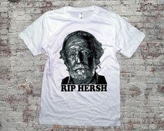 RIP HERSH SHIRT  Hershel Greene  TShirt  White 3001 by topclick, $16.99