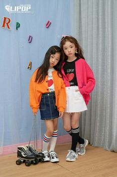 Little Girl Outfits, Kids Outfits, Na Haeun, Korean Fashion, Kids Fashion, Kid N Teenagers, Asian Kids, Kid Poses, 1 Girl