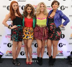 What is it with Girl Bands? Colour clash car crash, is it that nobody down loads their music so dress as loud as you can to be heard? Saturdays at Radio 1's Big Weekend. I could go on but don't wish to be too unkind 1st thing in the morning but Good Grief Girls and onto the OMG Board...........