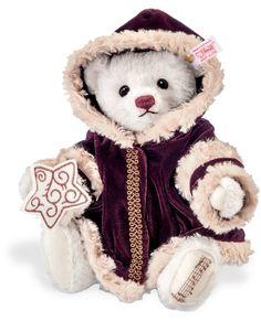 steiff bear 034749 Just Beautiful 💕 Purple Christmas 51c1405ee0818