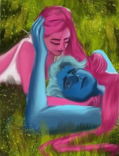 """""""It's been a while since i did a fanart. Here's another hades and kore from by 🙆♀️💃"""" Kore Goddess, Greek Goddess Art, Greek Mythology Art, Greek Gods, Hades Und Persephone, Eros And Psyche, Lore Olympus, Halloween 2020, Webtoon"""