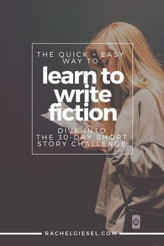 If you want to learn to write fiction, there are a LOT of things you need to know about. But trying to learn them all while writing a novel can be time-consuming and frustrating. Learn to write fiction the quick and easy way by focusing on the short story