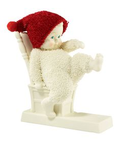 Love this Snowbabies Baby Needs New Shoes Figurine by Department 56 ~ Adorable for 1st Year Baby