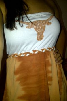 Custom Game Day Tshirt Dress by GameDayStyle on Etsy, $25.00