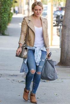 Hilary Duff - West Hollywood... - Celebrity Street Style