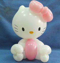 Hello Kitty Balloon Animal