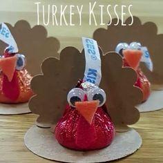 Turkey Kisses for Thanksgiving!