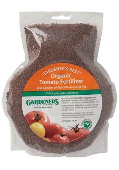 Veggie Gardening Tips Gsc Organic Tomato Fertilizer Grow 400 x 300