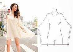 Moda e Dicas de Costura: VESTIDO FÁCIL DE FAZER - 3