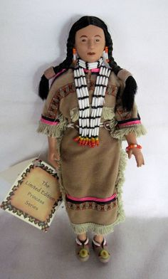 Laughing Brook Comanche Princess Native American Limited Edition Doll! #Doll
