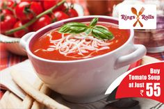 Buy #Creamy #Tomato #Soup Just Rupees 55/- Hurry up download now and place your first order:-goo.gl/LpEJqG  #discountoffer #MyCashlessWallet #cashlessshopping #food #onlinemobileapp #foodlovers #like4like #foodlove #party #cafe #healthyfood #healthylifestyle