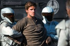 Liam Hemsworth in The Hunger Games - Catching Fire (2013)