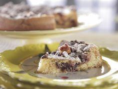 Apple Chocolate Cake recipe from Trisha Yearwood via Food Network (Season 6 -- Mother's Day)