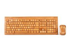 Bamboo Wireless Keyboard & Mouse